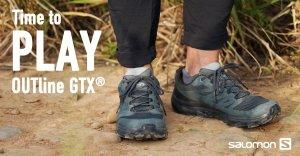 【鞋測】西班牙朝聖之路—Time to Play:Salomon OUTline GTX ® 登山鞋