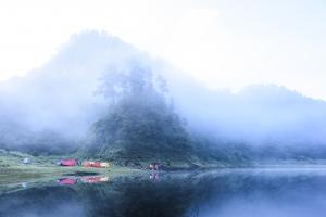 美麗的驚嘆號 ~ 松蘿湖