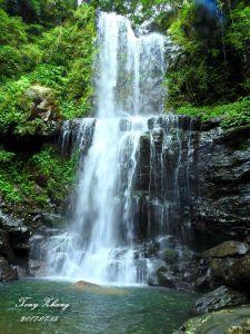 雲森瀑布、組合山