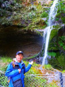 杉林溪松瀧岩瀑布、天地眼步道