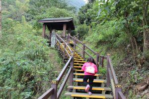 在台灣的山岳足跡