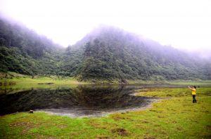 松蘿湖之美