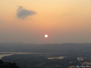 20150219~軍艦岩~夕陽 夜景
