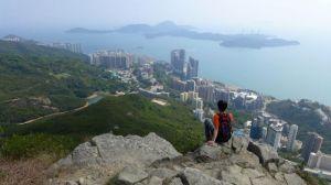 【香港】都會綠林山道─龍虎山經山頂環線出薄扶林水塘
