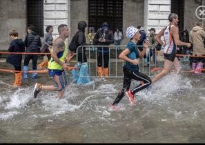 【賽事】馬拉松變水坑障礙賽?川內優輝威尼斯第七完賽