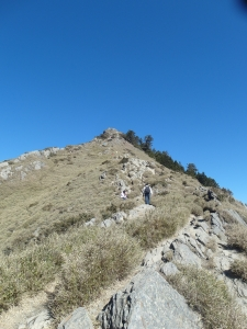 大百岳第66座合歡山之石門山及合歡尖山