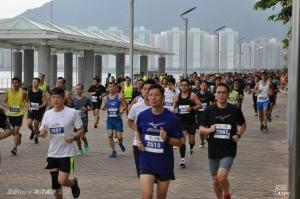 香港Guy x 美津濃跑 (起點約800米)