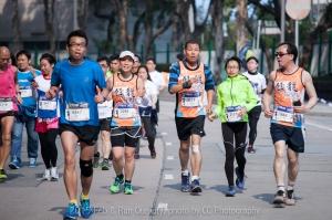 2015.2.8 Run Our City (終點前大約 2k - 1k,嘉年華會場)
