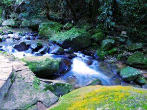 大溝溪親水公園、圓覺瀑布