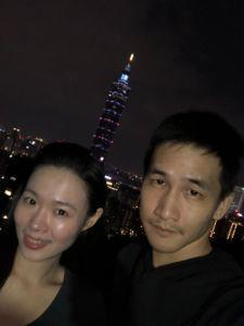 象山夜爬賞景