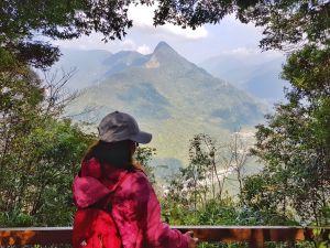 谷關七雄老六-白毛山 氣後多變的美麗樣貌 隨四季變換的美景畫