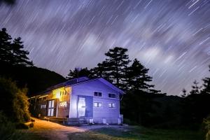 漫步在南湖星空的夜晚