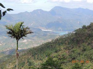 梅山觀音步道上竹子尖山