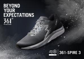 【新聞】361°年度主打鞋SPIRE 3獲頒ISPO全球設計大獎