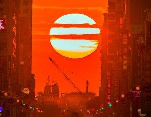 【新聞】高市懸日奇景 雙十一封街