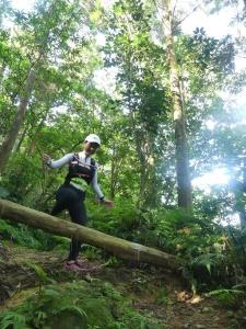 猴山岳下 9km及17k、26km會合處 /網友 Fred Hsu