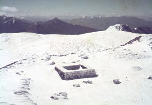1972 春節奇萊南峰 能高北峰見瑞雪