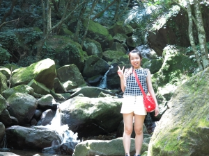 清涼一夏~青山瀑布尖山湖步道O型走