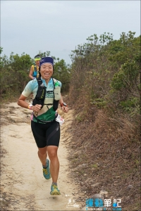 45km Race from Jardine's Lookout en route to CP5