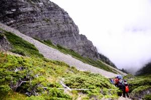 雪山北峰聖稜線之美