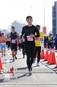 台北國道馬拉松21公里終點