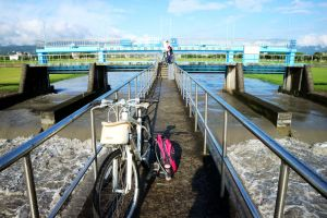 安農溪自行車道漫遊蘭陽平原自然風光