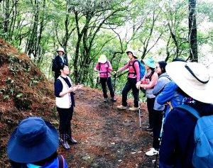【新聞】霞喀羅國家步道周邊泰雅部落生態旅遊策略聯盟正式啟動,歡迎跟著部落達人探尋霞喀羅的山綠楓紅