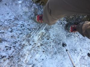 冰封雪山巧遇流星雨