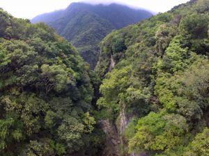 峭壁深谷之錐麓古道