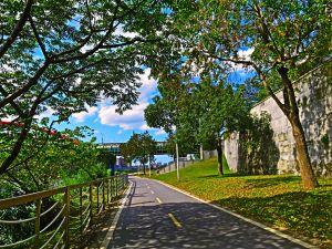在寶藏巖看見台北河岸風情
