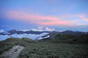 山岳之美   合歡北峰夕彩