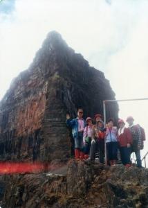 老照片分享,1984年大霸尖山