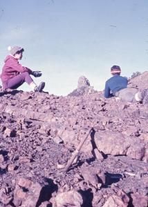 1970.11月 聖稜線Y型縱走