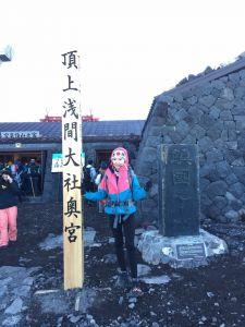 20160728富士山之代表九人環火山口