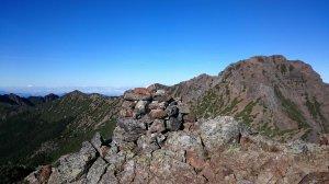 2017-8-13玉山主峰,東峰,北峰