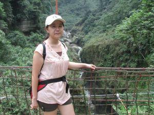 竹山天梯與太極峽谷(順遊八卦茶園)