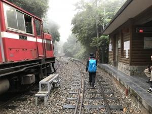 獨立山的青山,鐵道與人們