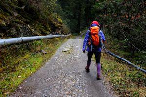 合歡溪步道登合歡西峰
