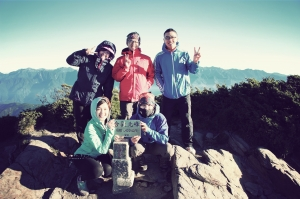 合歡山北西峰