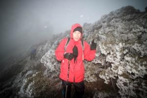 霜降東小南山