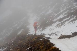 雪山西稜未竟 Day.2。不浪漫的冰雪奇緣