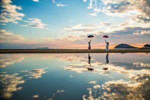 世界6大天空之鏡:馬來西亞沙沙蘭。美哭人的天空之鏡這樣玩!
