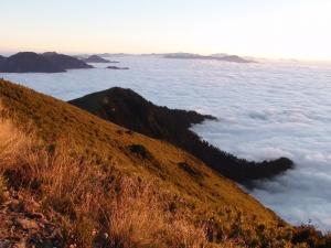 山岳之美-合歡山雲海