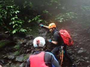 瑪鋉溪 連續小瀑攀爬挑戰