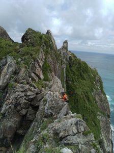 中央山脈的起點-烏岩角