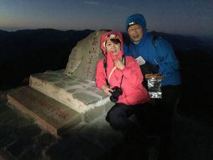 攀登十峻之首-玉山東峰