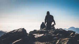 殘雪三月-玉山前五峰