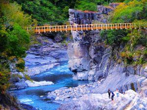 新竹秀巒野溪溫泉步道