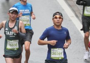 odlo智能跑衣之再訪台北馬拉松2018
