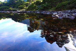 台灣最高湖泊..雪山翠池之美